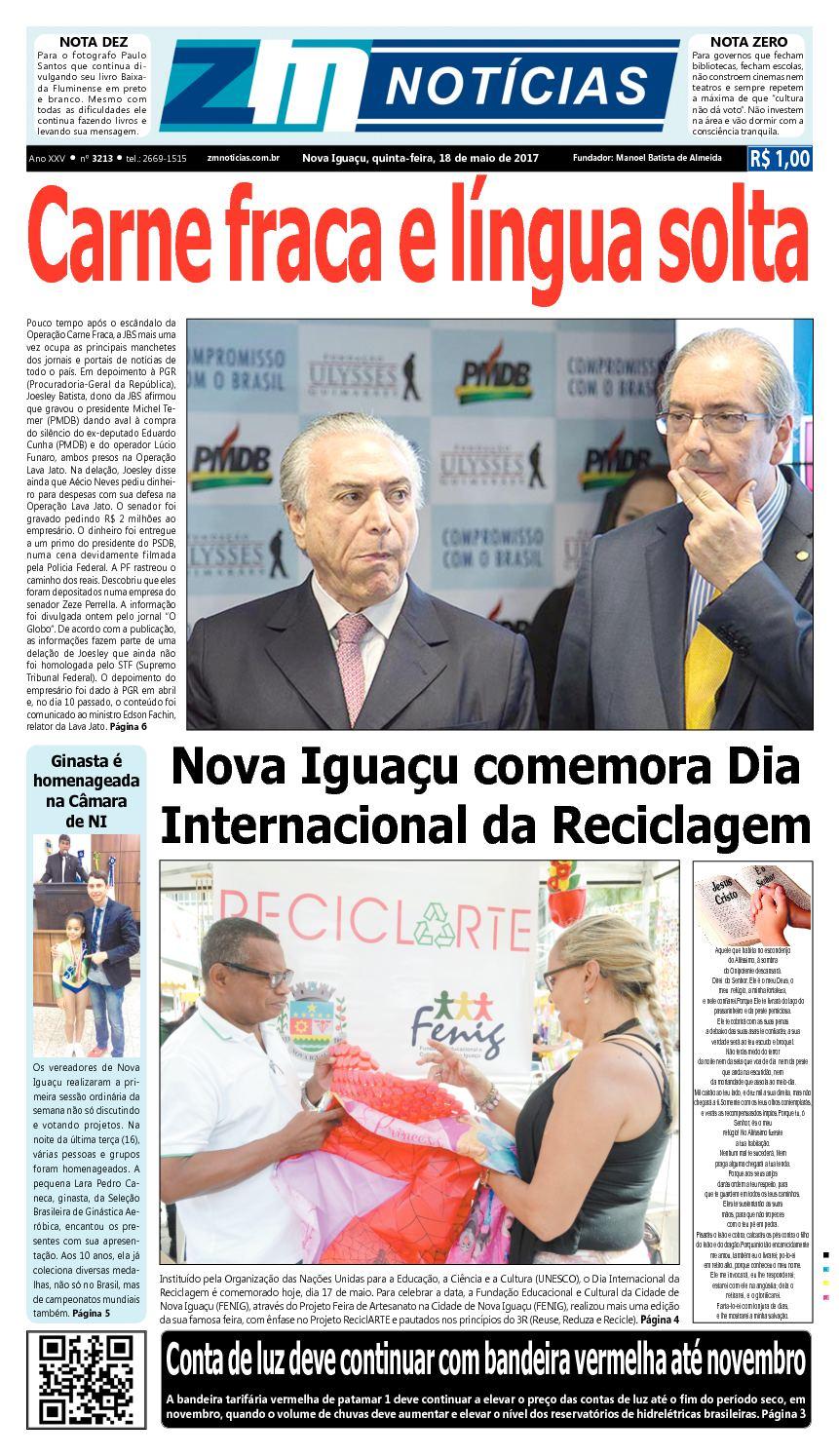 ZM Noticias - Edição 180517