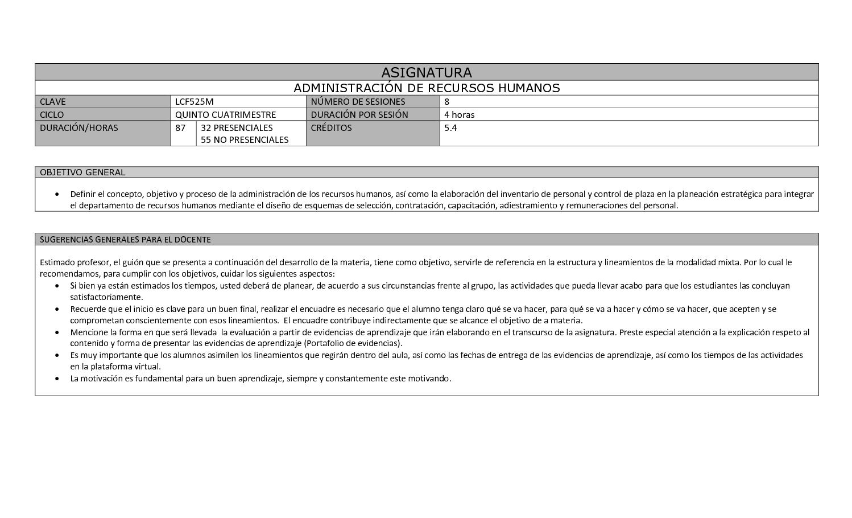 Calaméo - Administración De Recursos Humanos