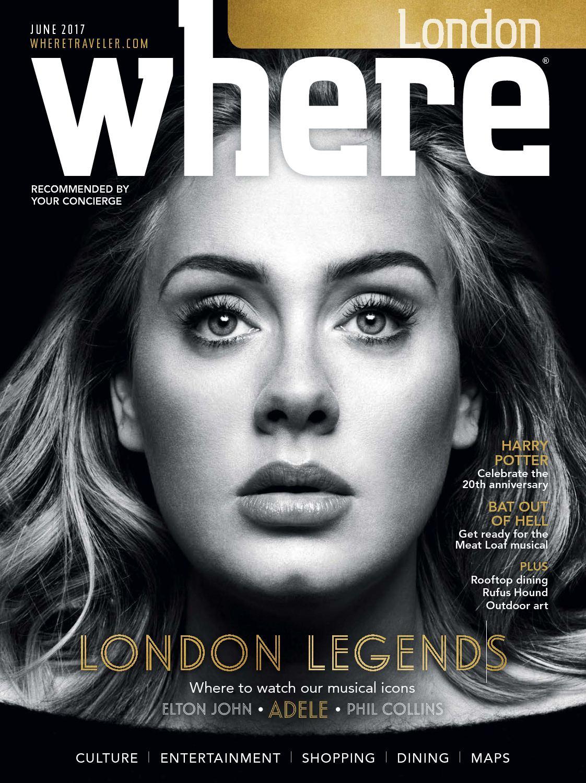 WHERE LONDON JUNE 2017