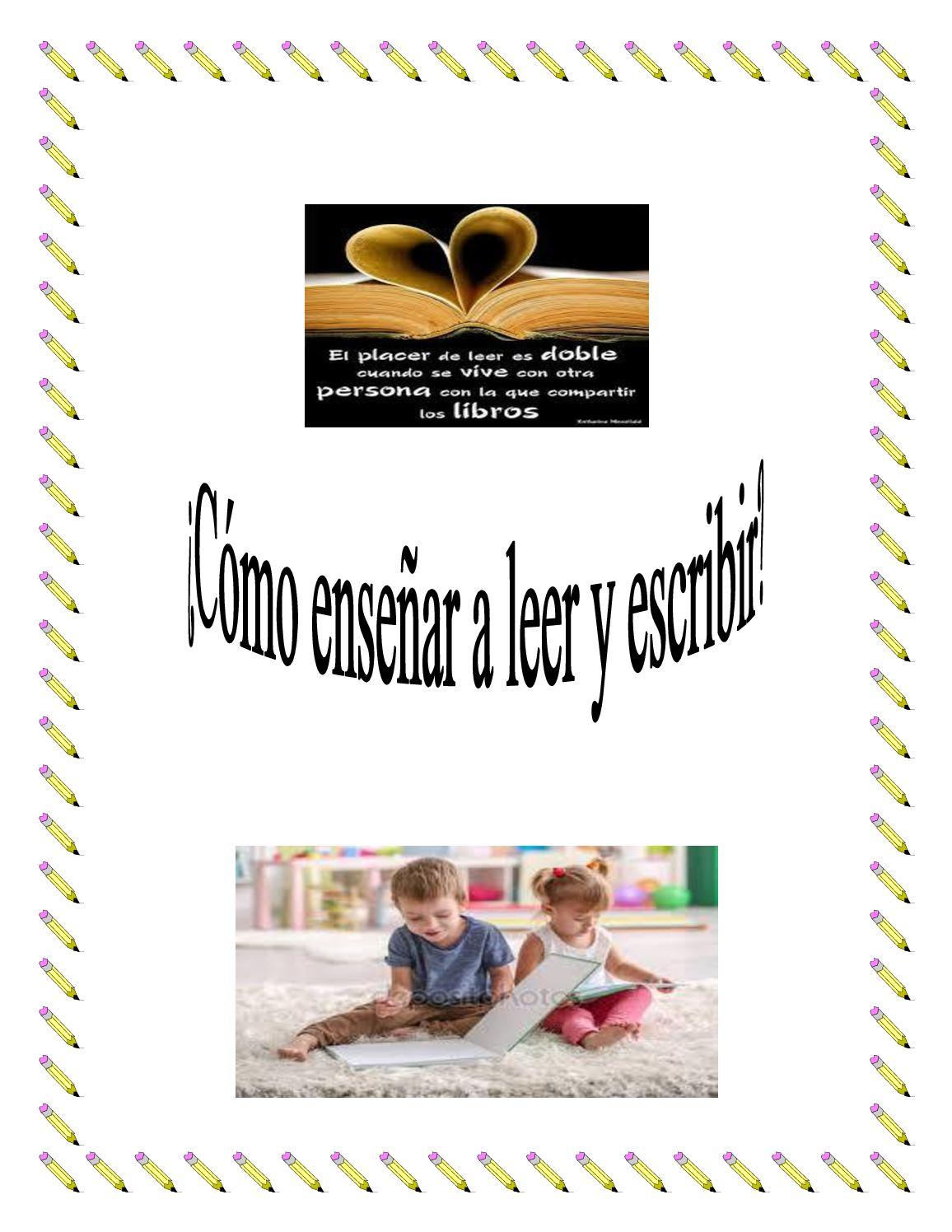 Cuál Es El Mejor Método Para Enseñar A Leer Y Escribir Calameo