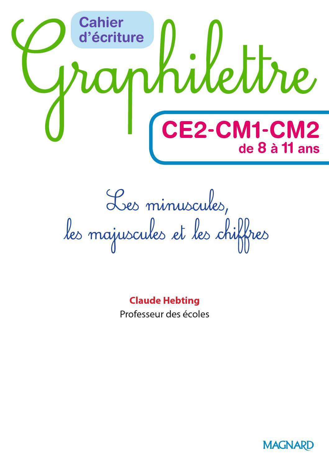 [DIAGRAM_1CA]  Extrait Graphilettre Ecriture Ce2 Cm1 Cm2 - CALAMEO Downloader | Ce2 Cm1 |  | CALAMEO Downloader
