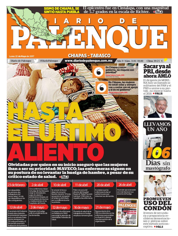 Diario 22/05/2017