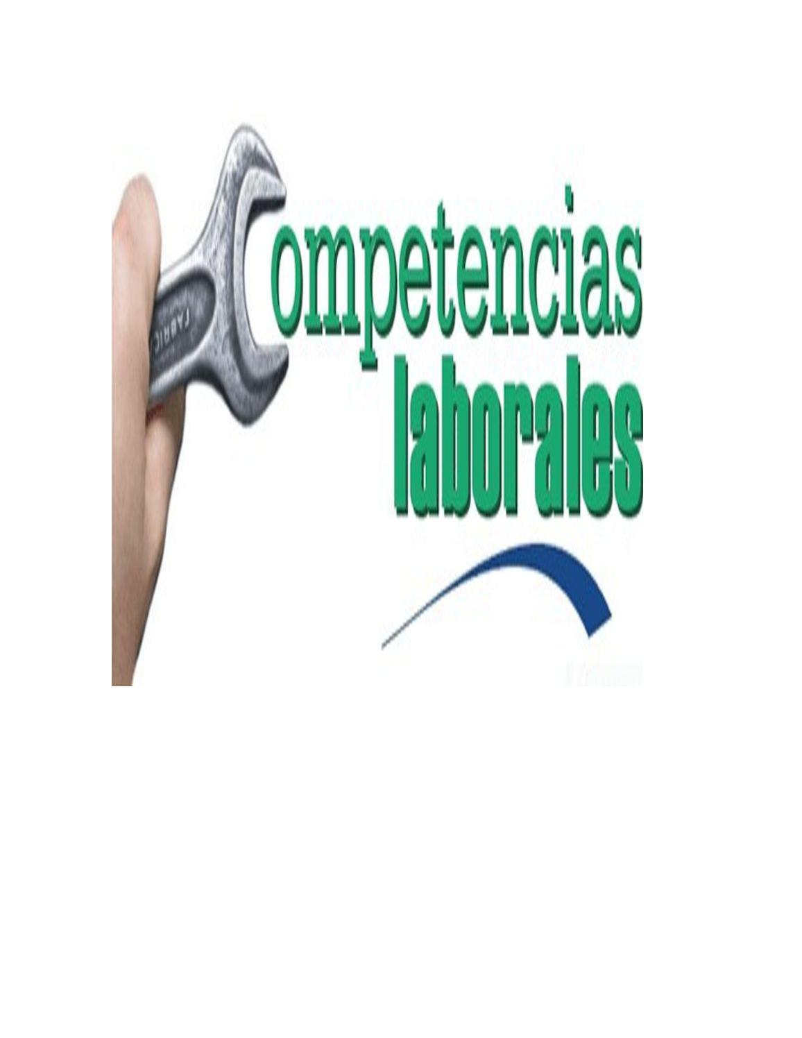 Qué Es Una Competencia Laboral