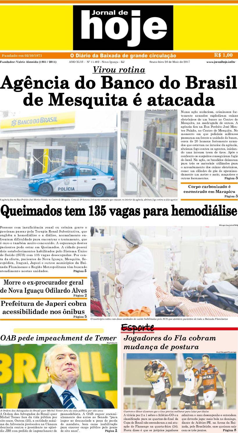 Jornal De Hoje 260517