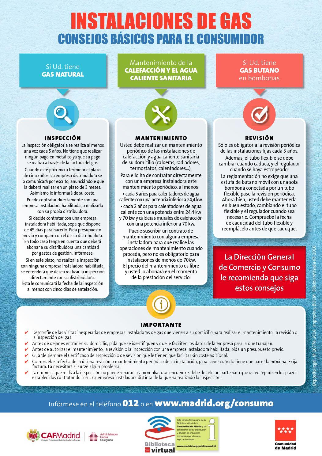 Revision de gas butano stunning toda la verdad estafas en for Revision gas butano empresas autorizadas