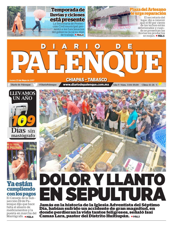 Diario 25/05/2017