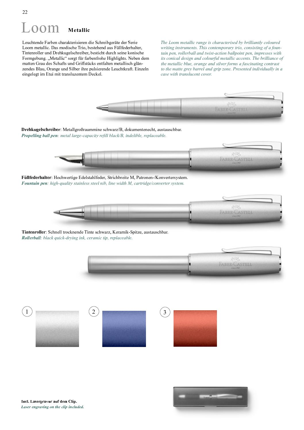 2017 Faber Castell Psac Poteby Calameo Downloader Neo Slim Ballpoint Stylus Stainless Steel Matt Page 22
