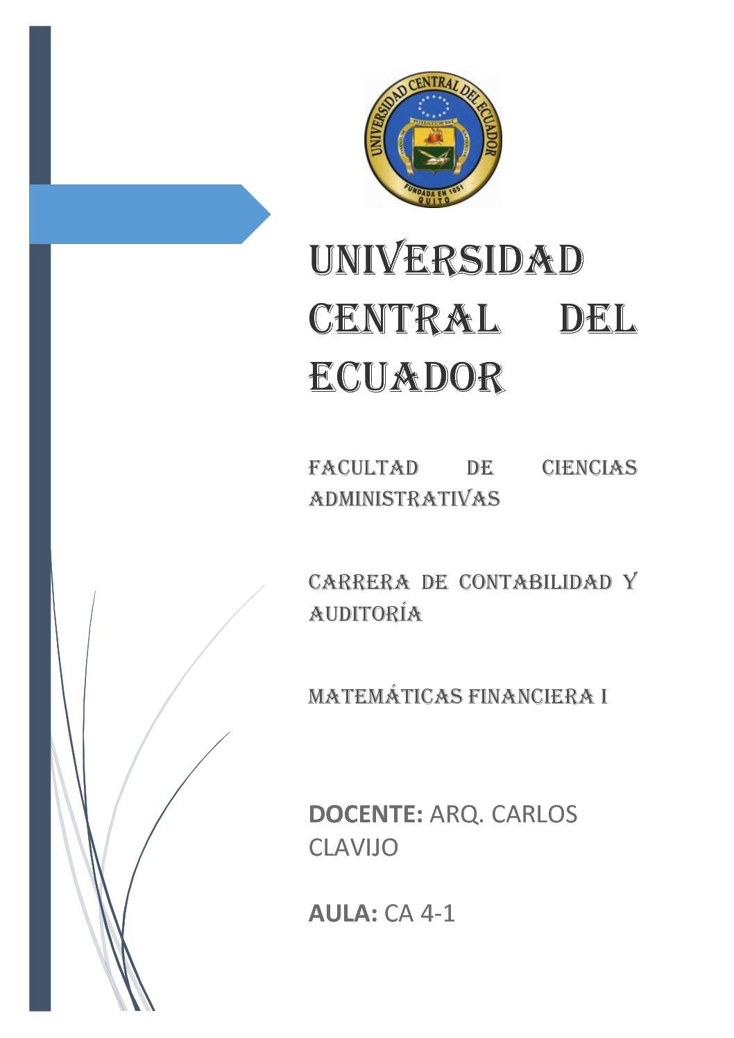Cuaderno De Matematica Financiera I 1 Hemisemestre