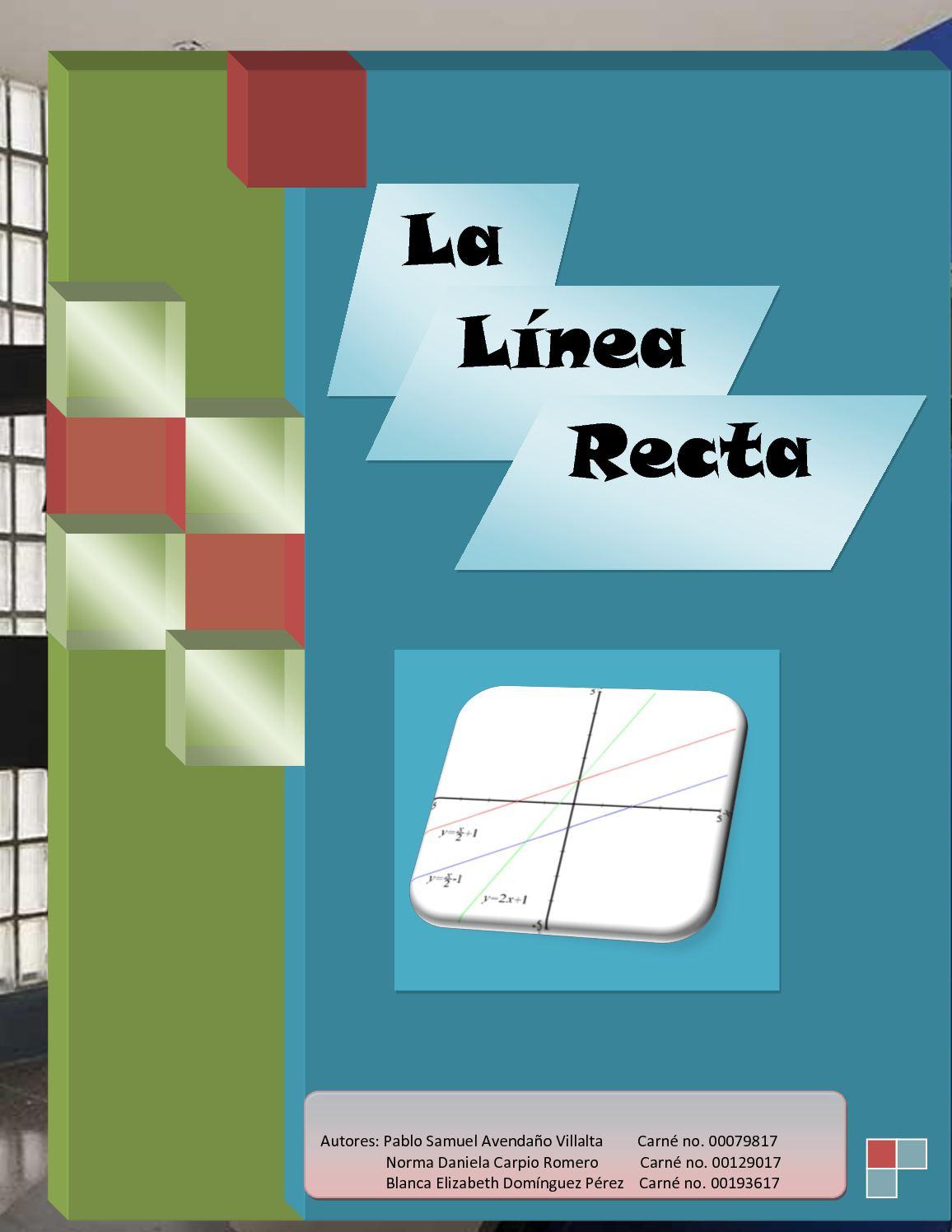 Tarea 2: La línea recta