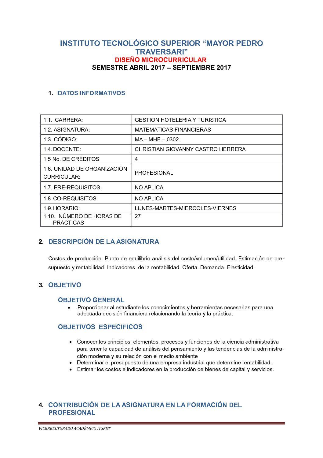 Calaméo - Silabo Matematicas Financieras 2017