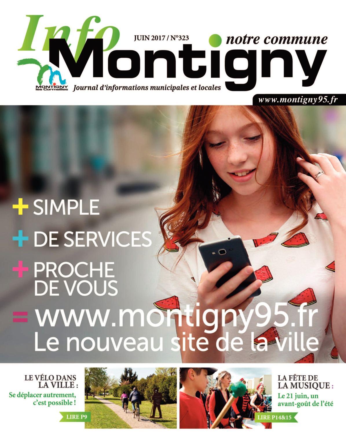 Calaméo - Montigny Notre Commune N323 Juin 2017