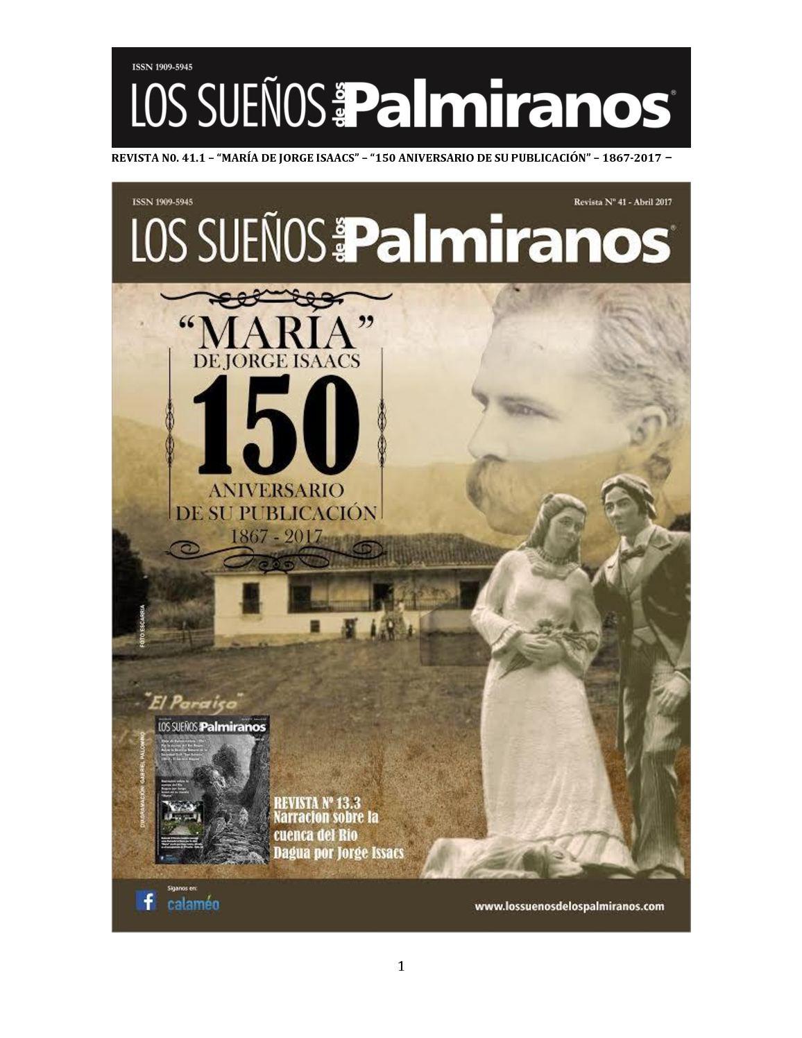 Calaméo - Revista N0 41 1 La Maria De Jorge Isaacs 150 Años