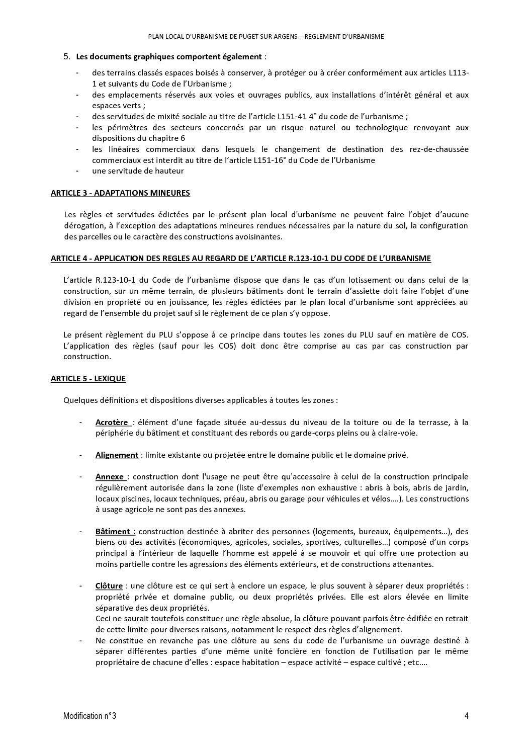 R Glement P L U Calameo Downloader # Prescription Urbanistique Abris De Jardin