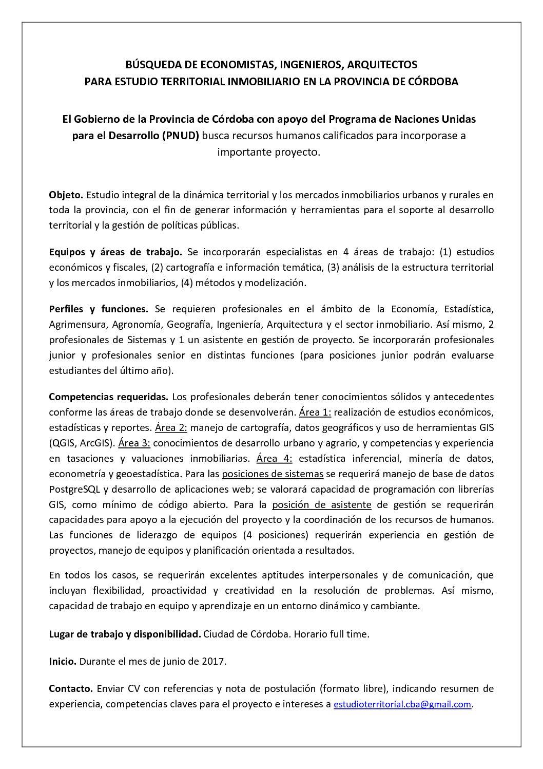 Calaméo - Busqueda Rrhh Estudio Territorial Inmobiliario Cba