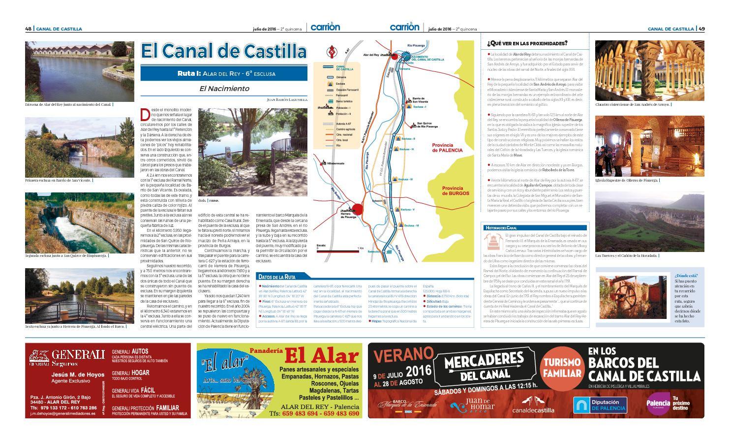 Rutas Por El Canal De Castilla 01