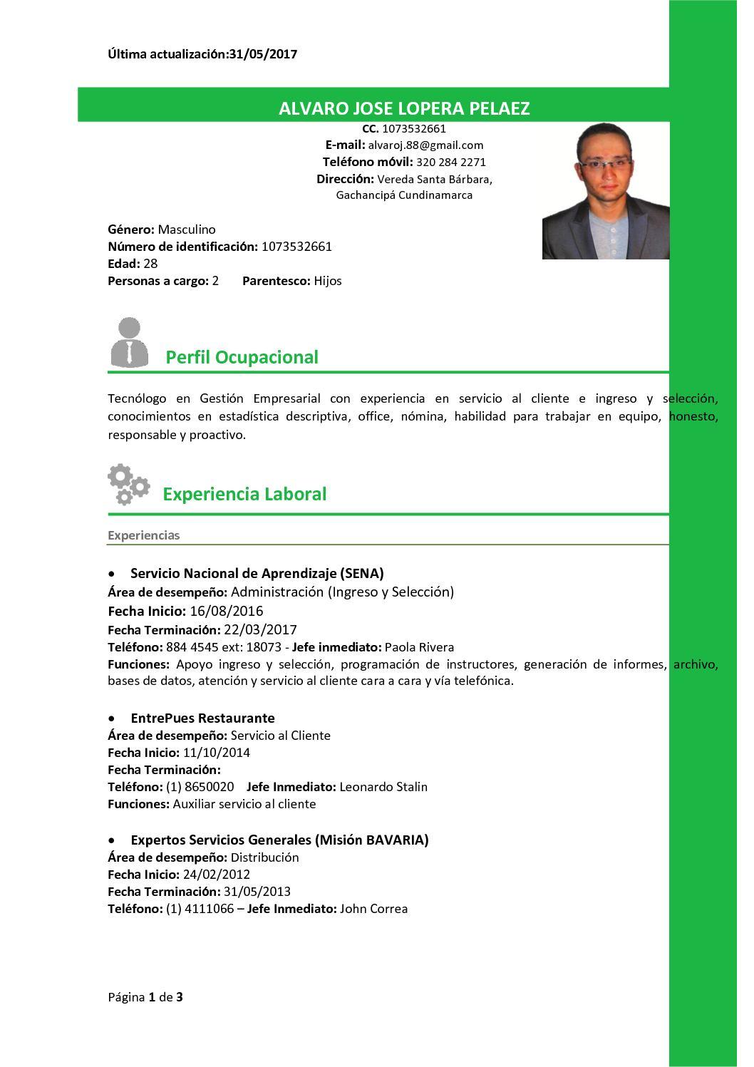 Calaméo - Currículum Vitae