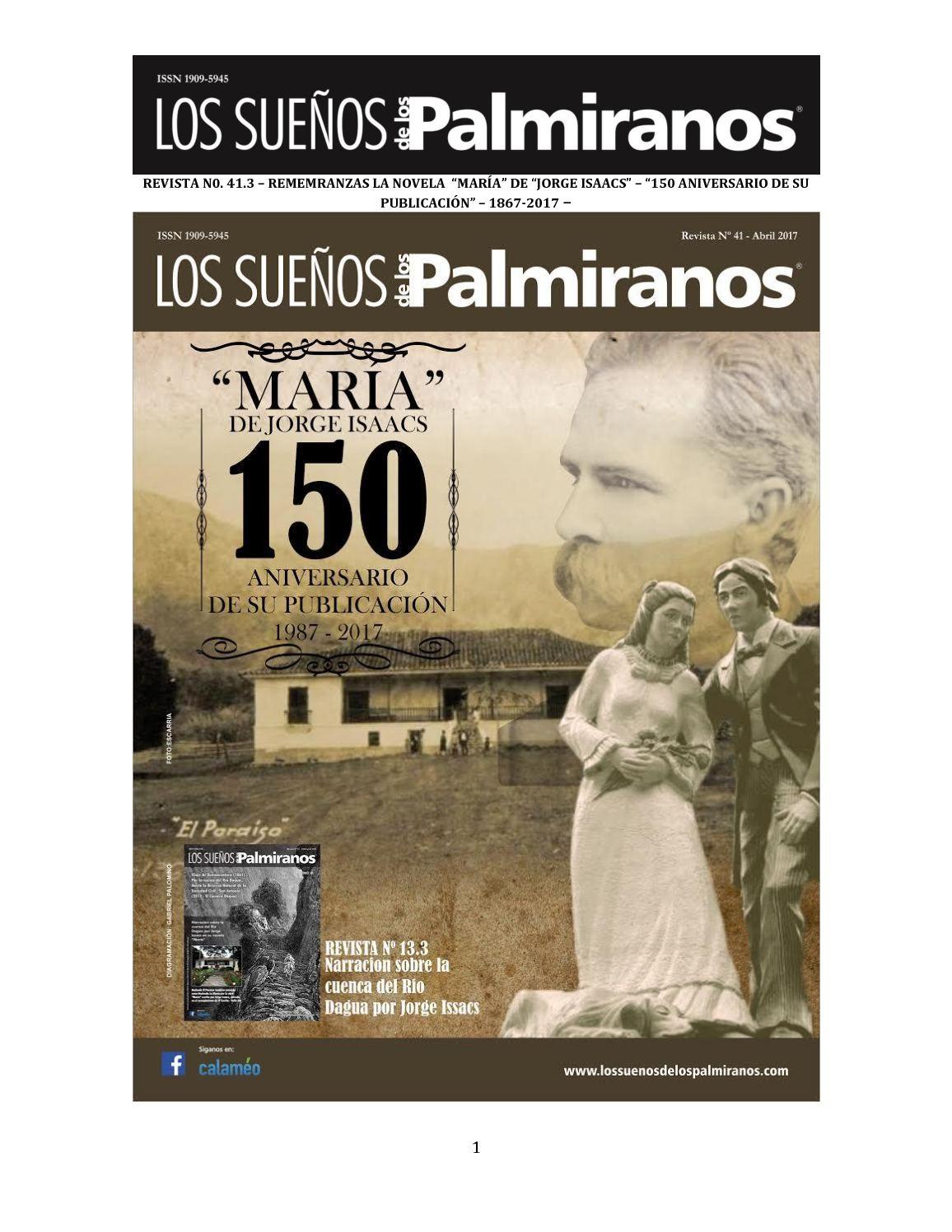 Calaméo - Revista N0 41 3 Remembranzas De La Novela Maria De Jorge ...
