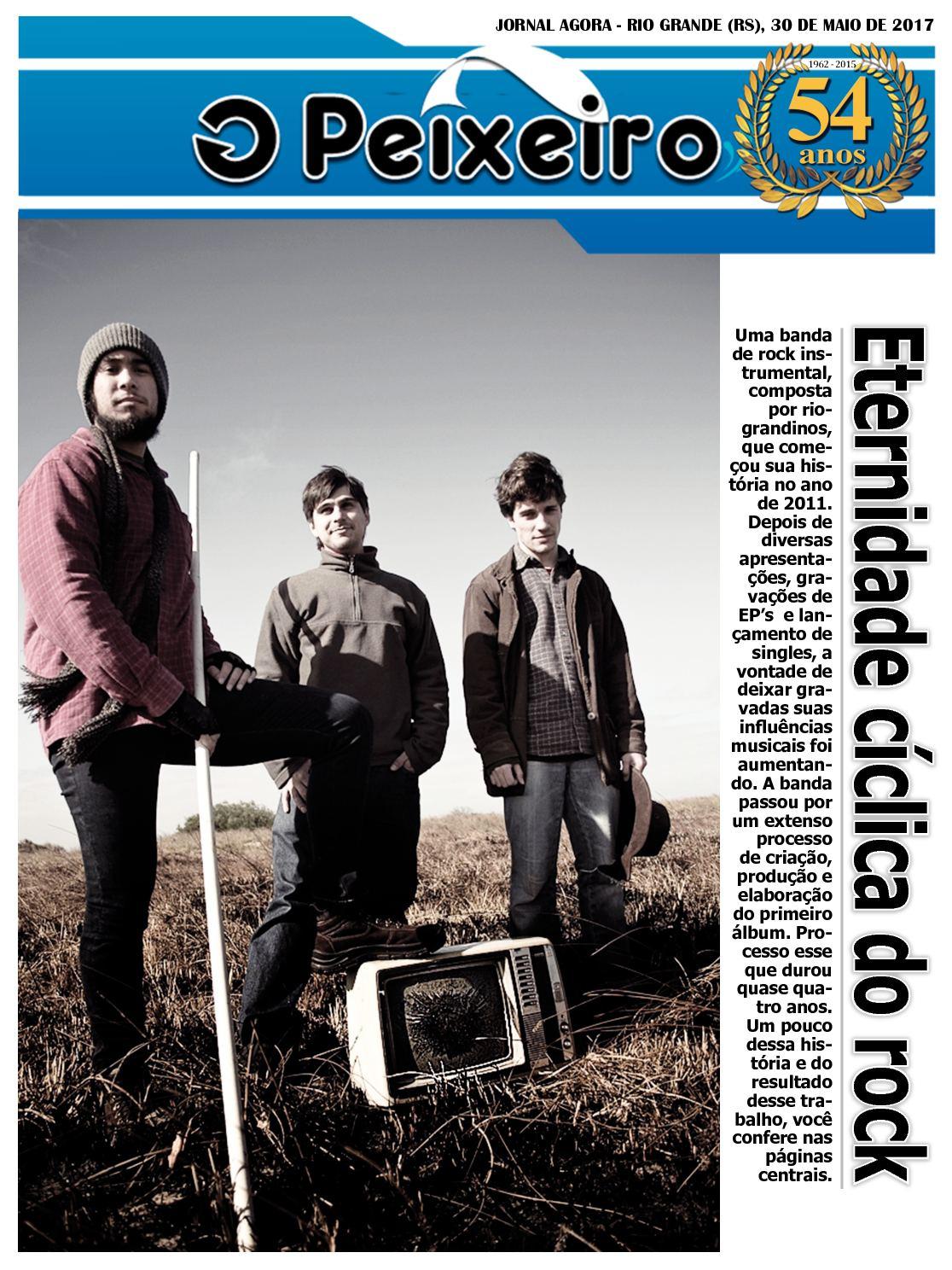 Jornal Agora - Edição 11758  - O Peixeiro - 30 de Maio de 2017