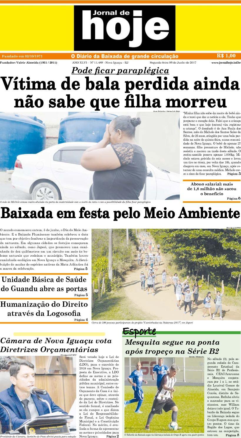 Jornal De Hoje 060617