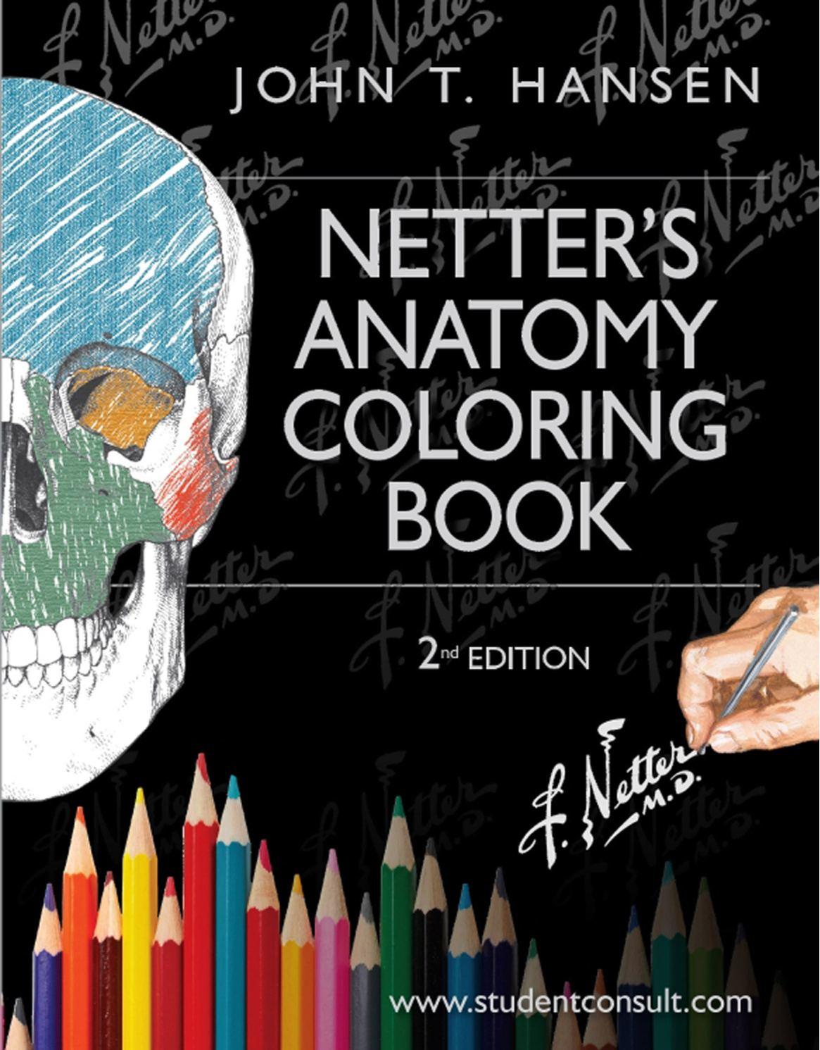 Calamo Netters Anatomy Coloring Book