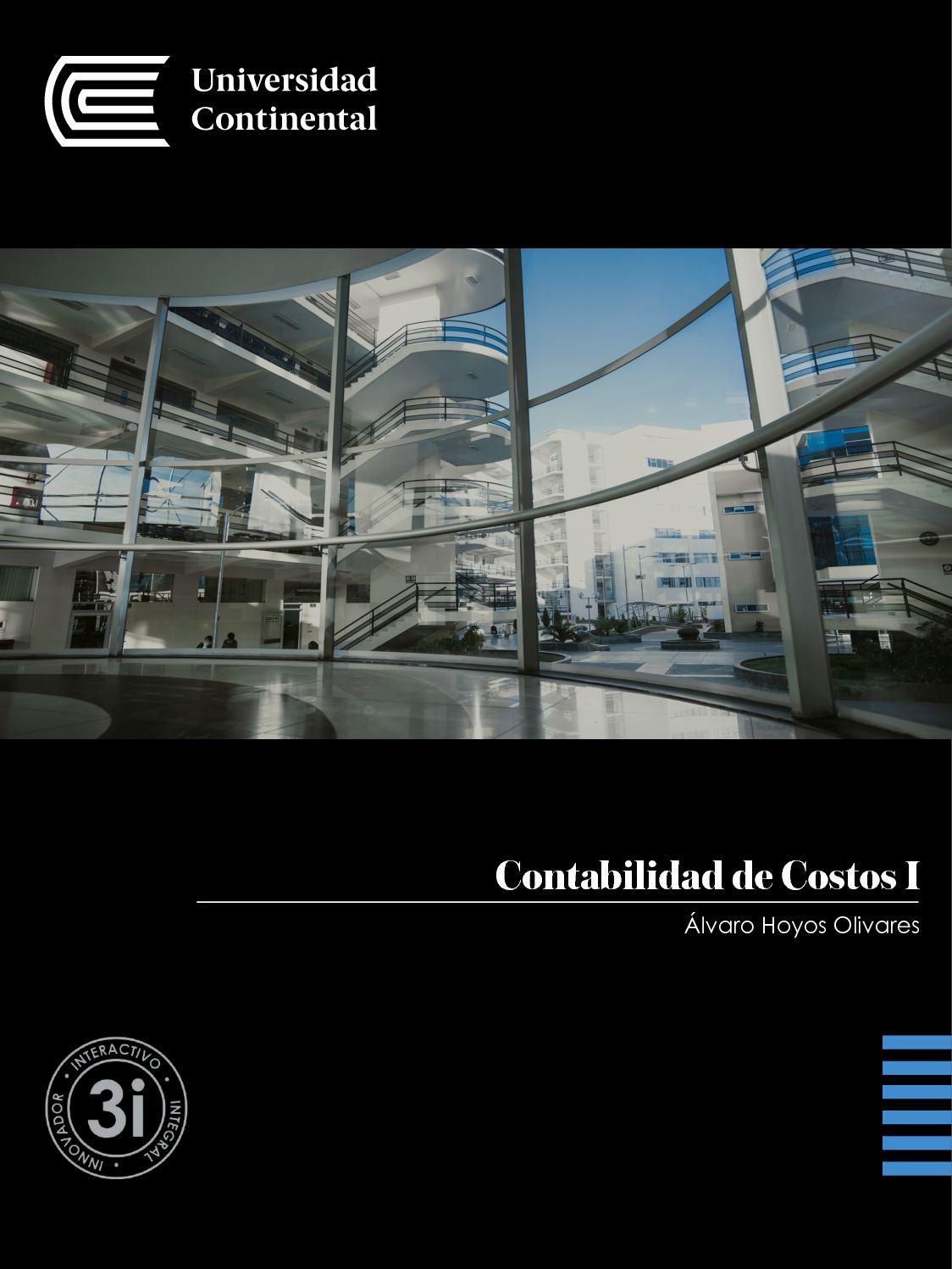 Contabilidad De Costos I Uc0131