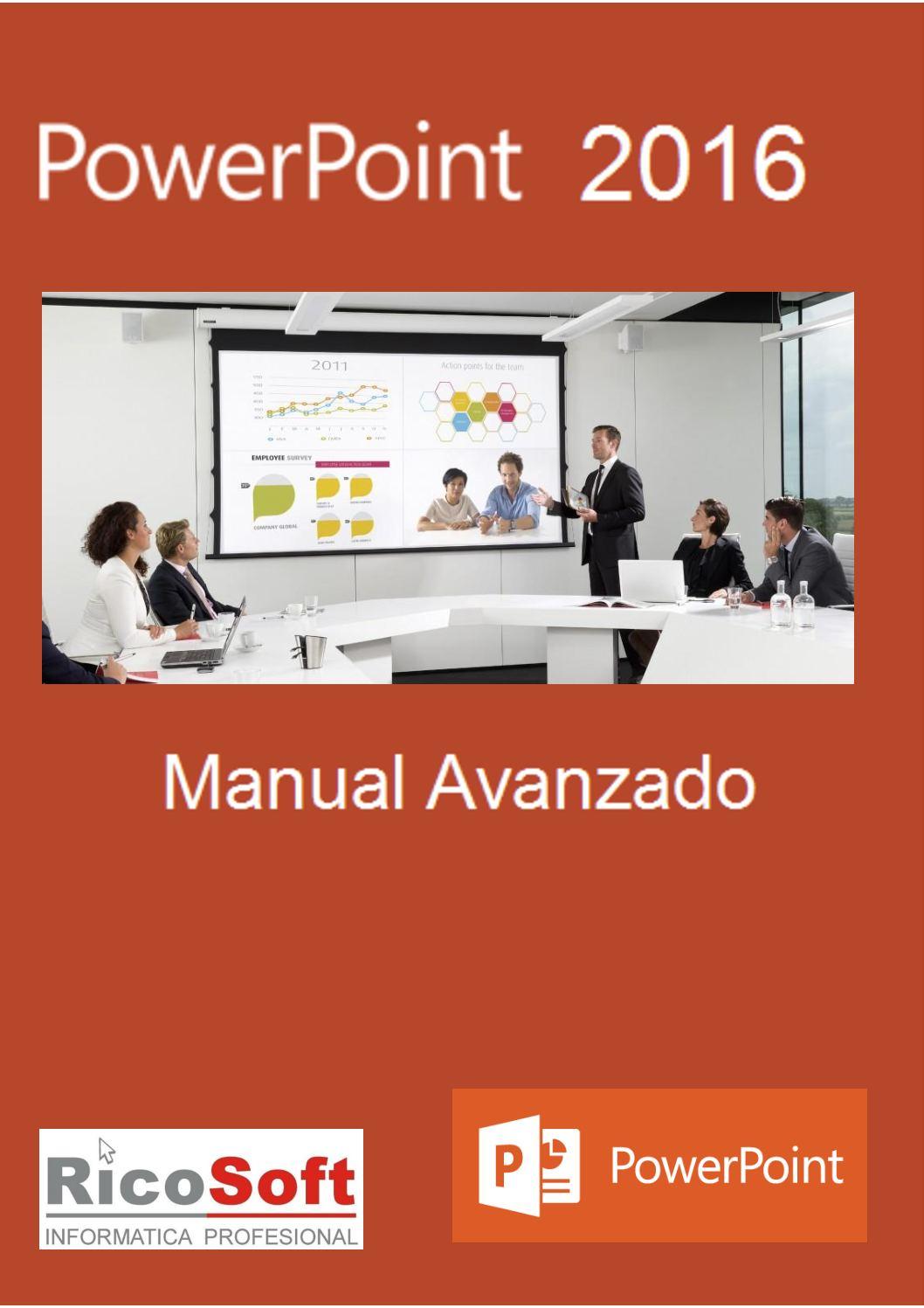 Calaméo - Manual Avanzado Power Point 2016