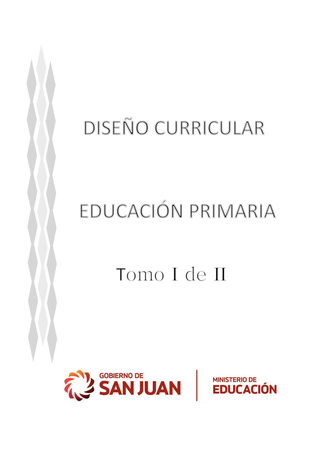 Calaméo - Diseño Curricular Educación Primaria Tomo I (1)