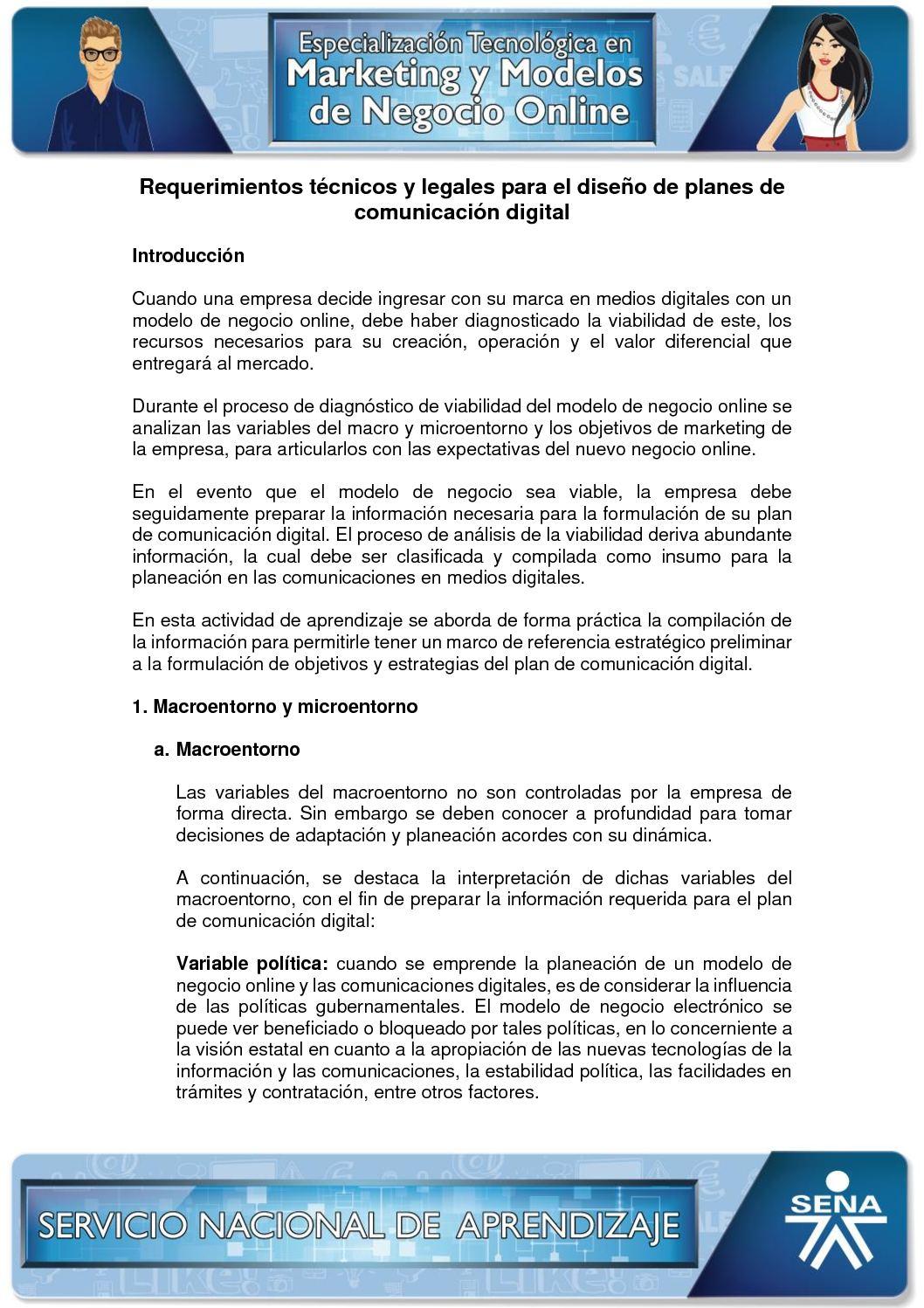 Calaméo - Requerimientos Técnicos Y Legales