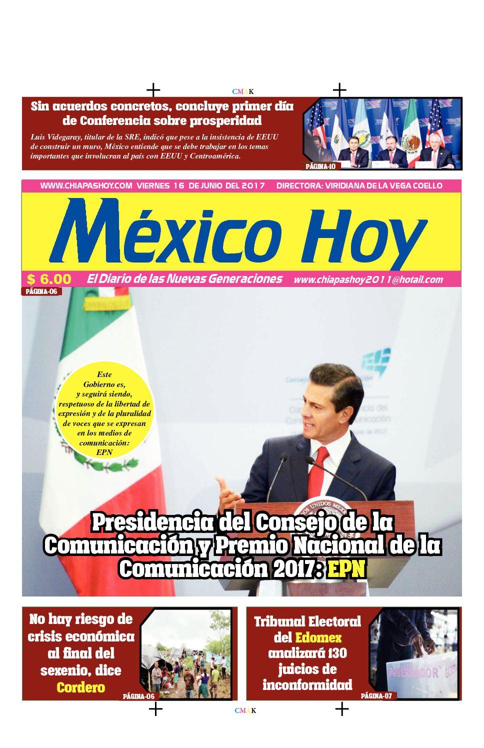 Mexico 16 De Junio
