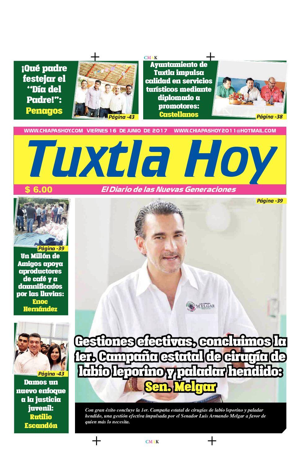 Tuxtla Hoy 16 De Junio
