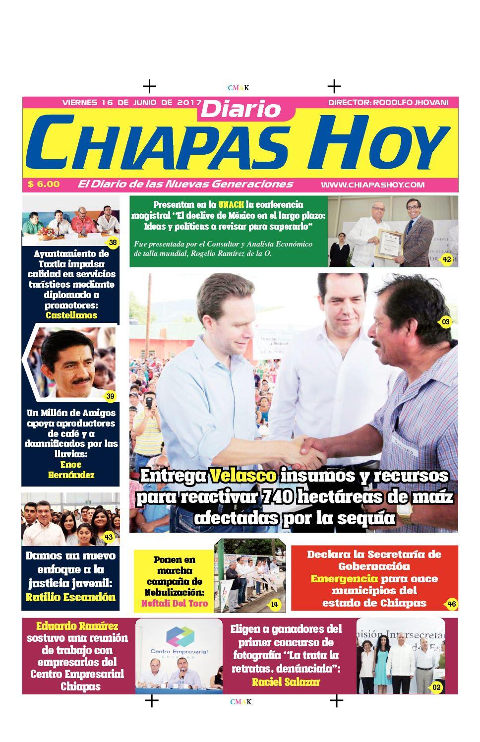 Chiapas Hoy 16 De Junio