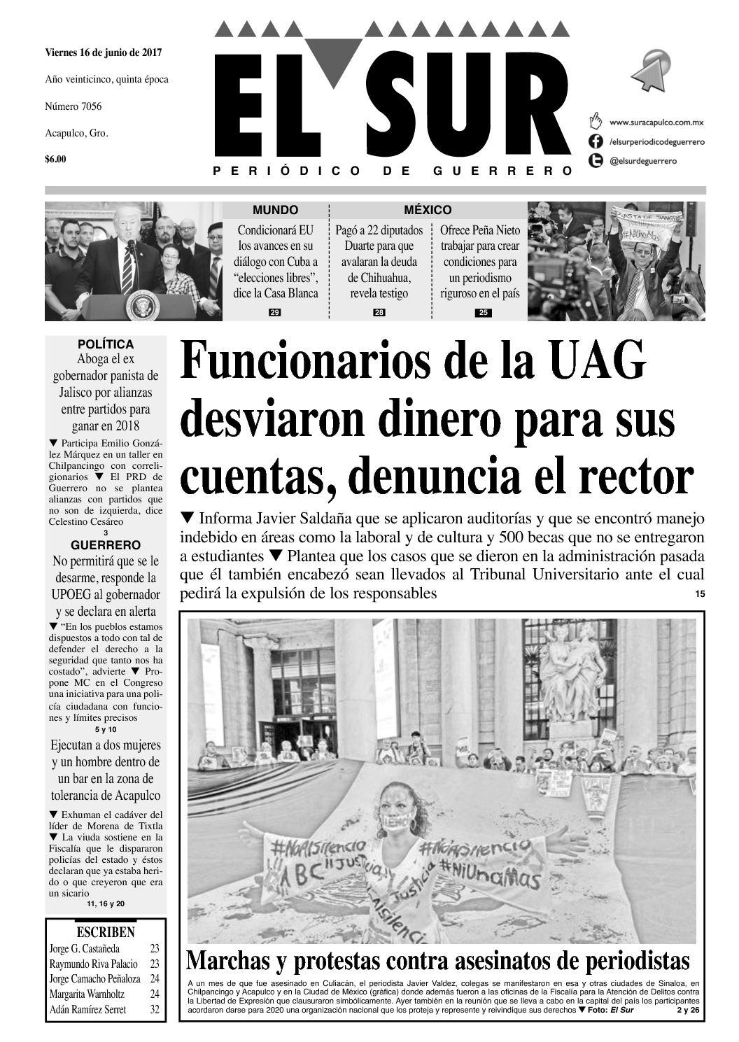 El Sur Viernes 16062017
