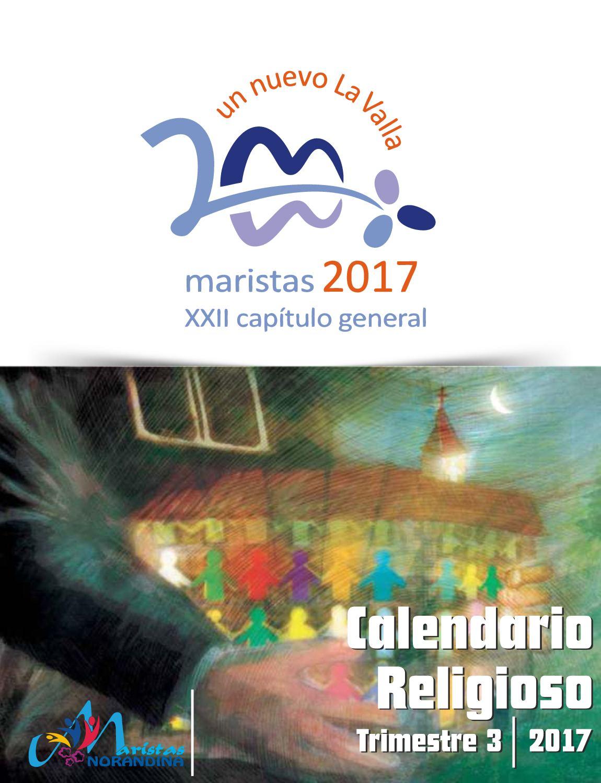 Calendario Religioso Trimestre 3 2017