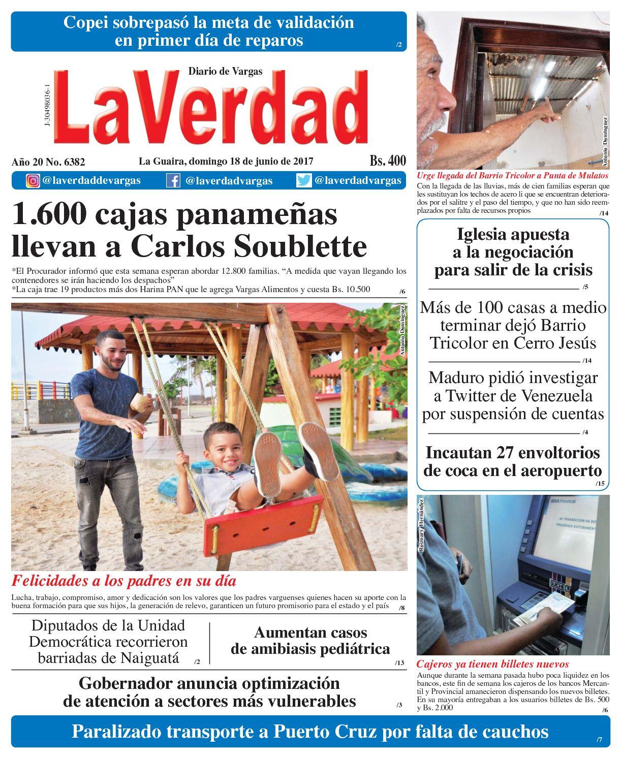 Calaméo - La Guaira, Domingo 18 De Junio De 2016 Año 20 No 6382