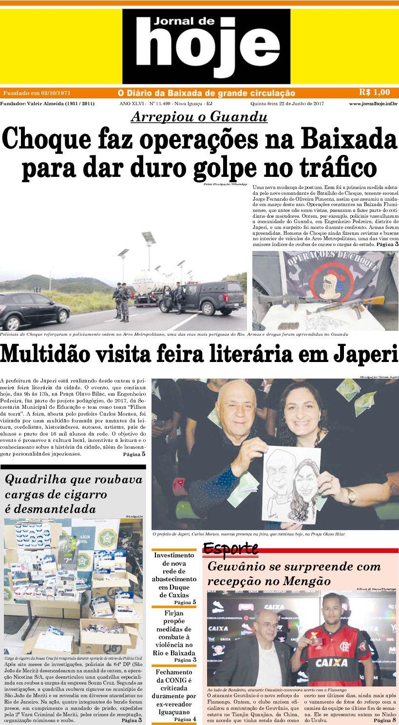 Jornal De Hoje 220617
