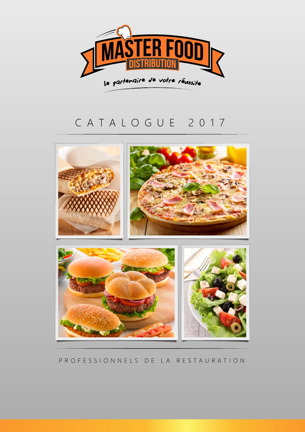 Catalogue Master Food Distribution 2017