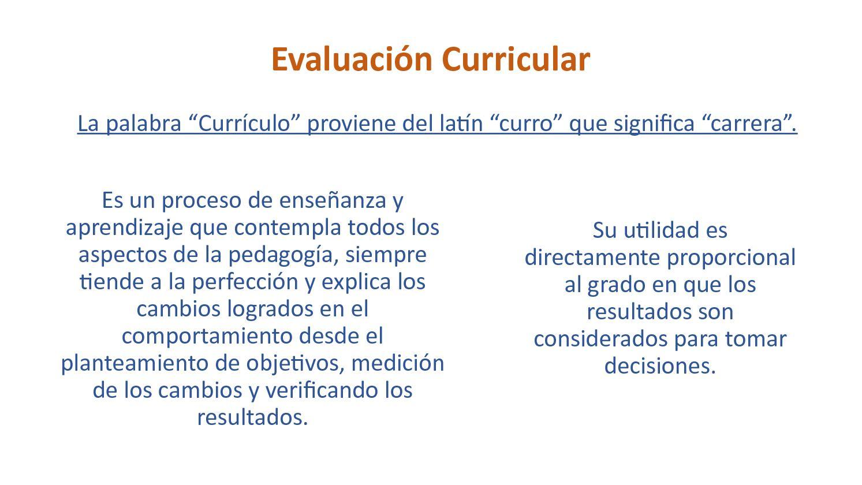 Calaméo - Evaluación curricular, historia y conceptos básicos
