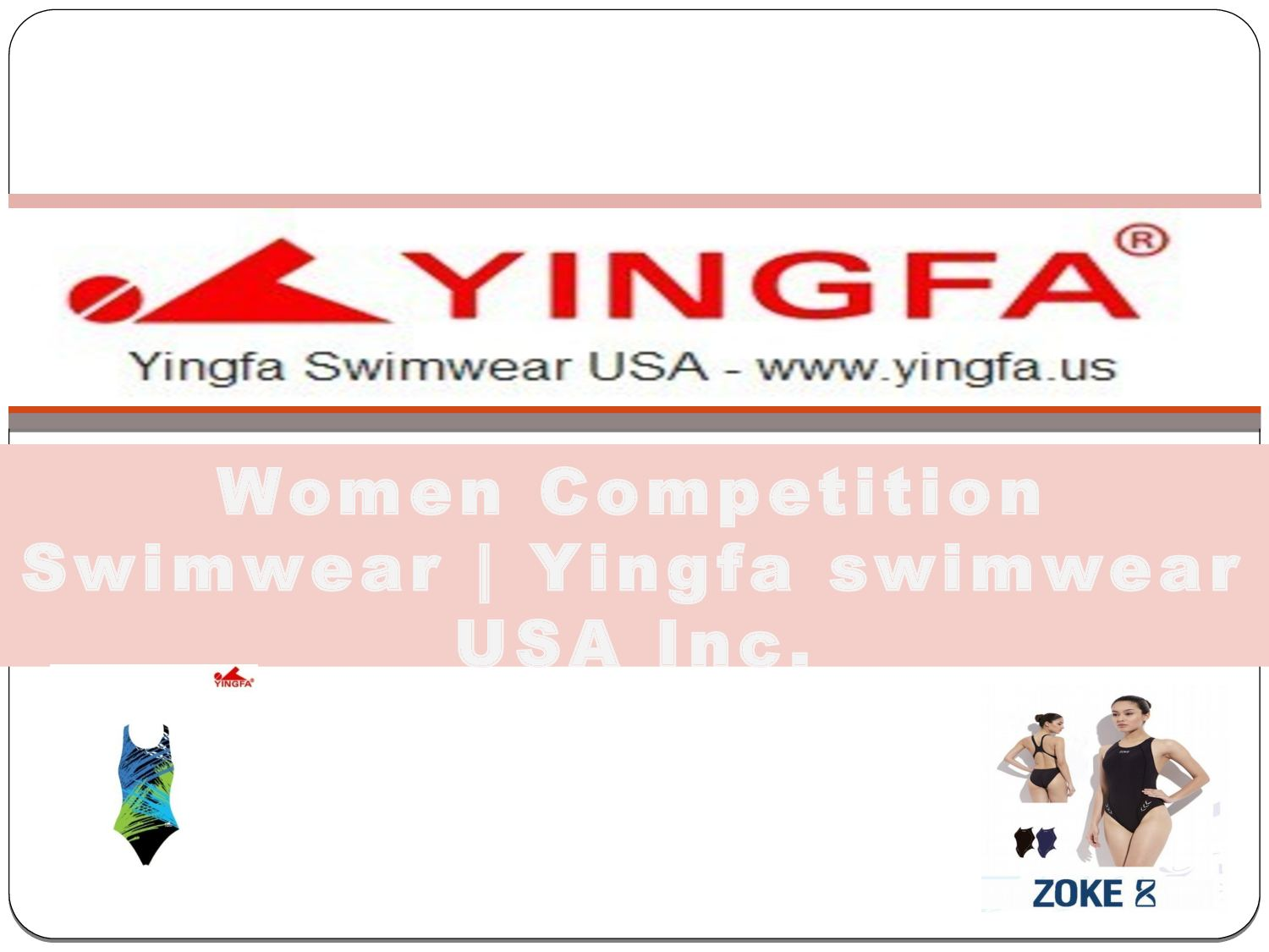 09e020c5b9 Women Competition Swimwear Yingfa. by Yingfa swimwear USA Inc.