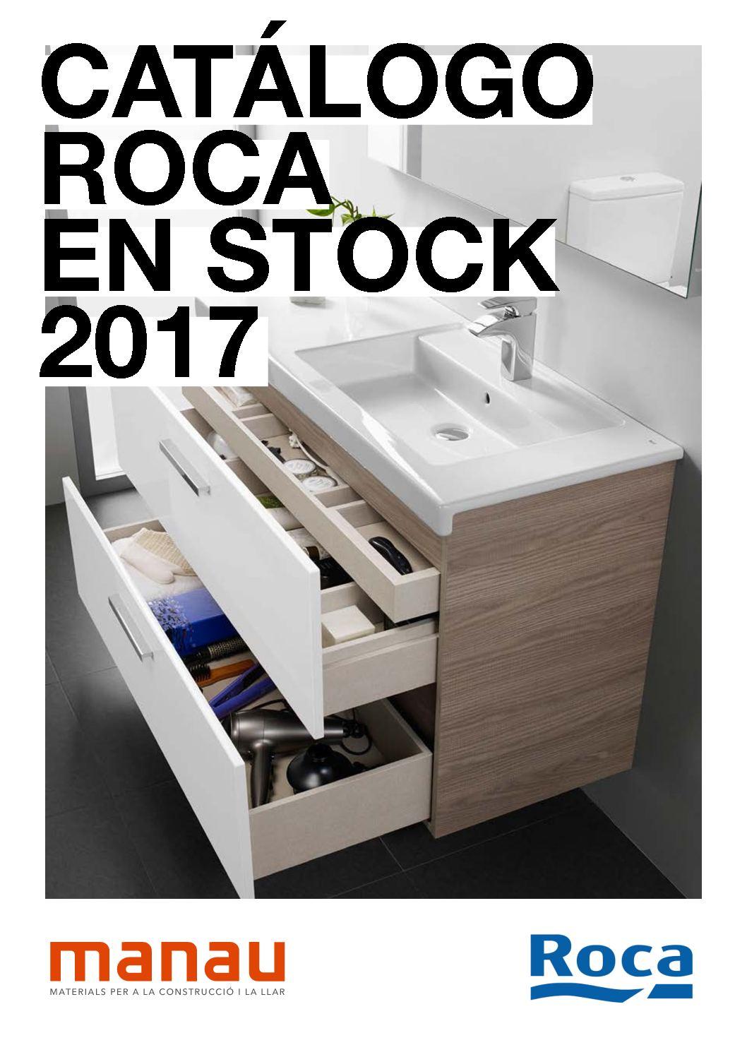 Calam o catalogo muebles roca stock 2017 for Catalogo griferia roca