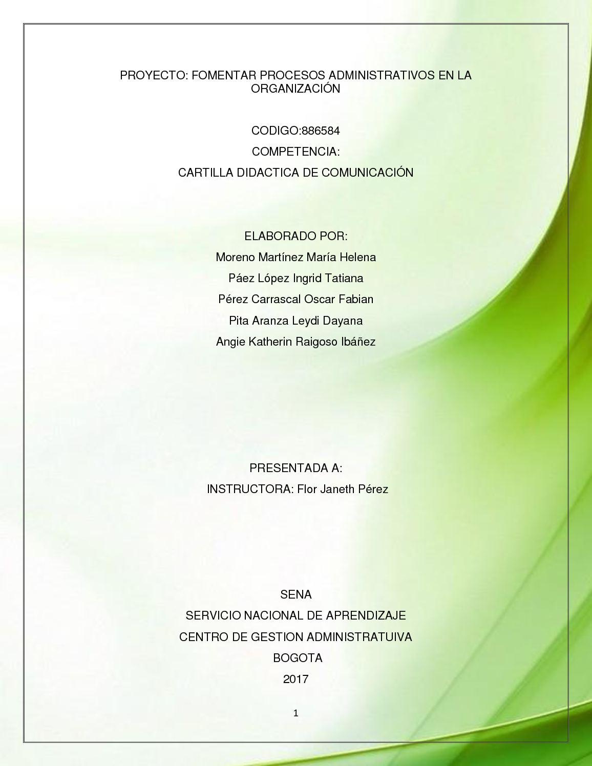 Calaméo - Proyecto Comunicacion