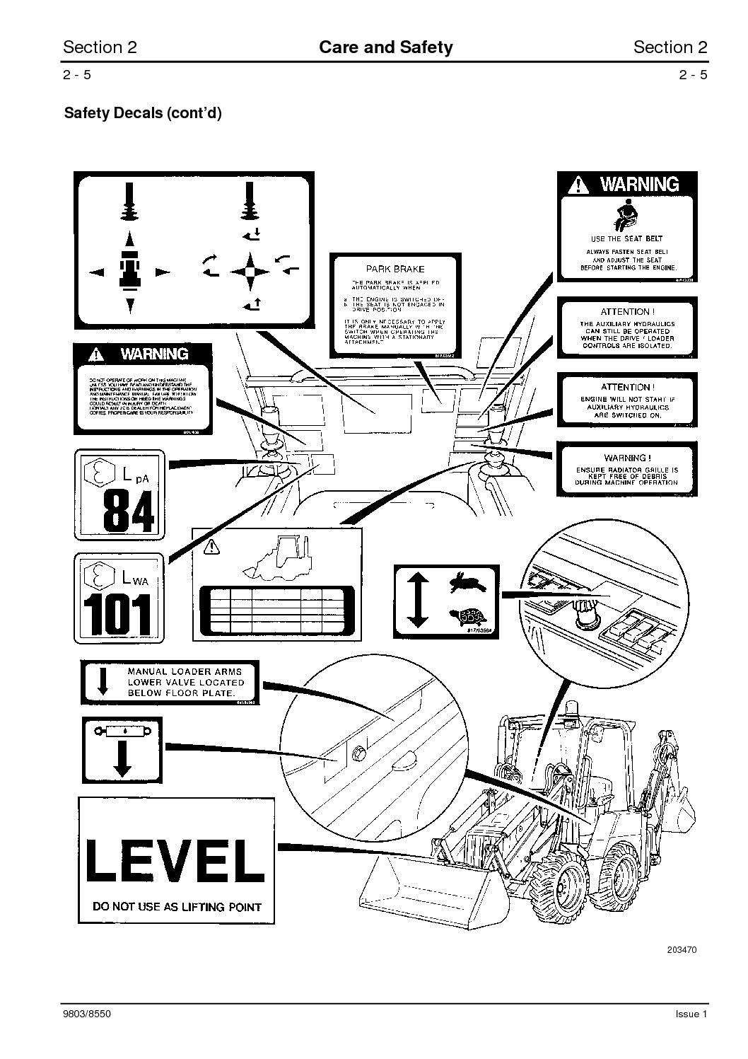 Jcb 1cx Backhoe Loader Service Repair Manual Sn751600 To 752999 Ducati Engine Diagrams Page 23