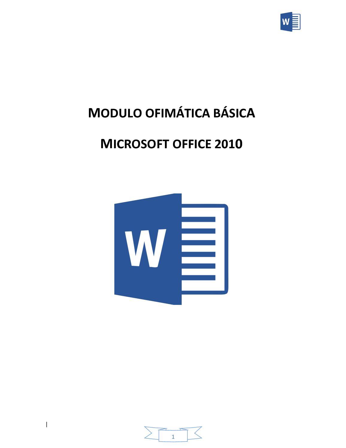 MODULO WORD 2010