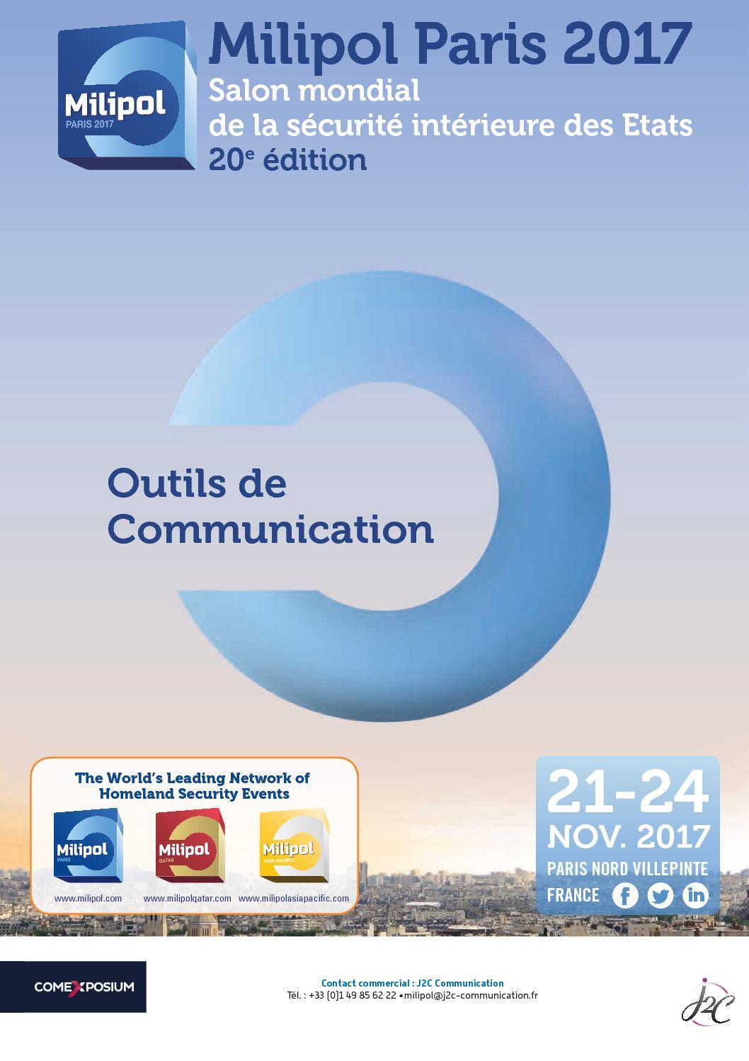 Calam o milipol paris 2017 outils de communication fr for Salon milipol 2017