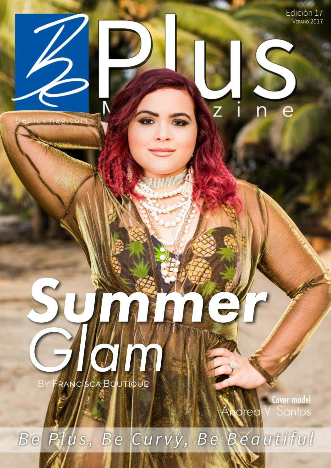 Be Plus Magazine Summer Glam 2017