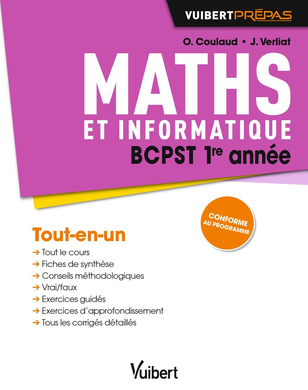 Maths BCPST 1re année 9782311404074