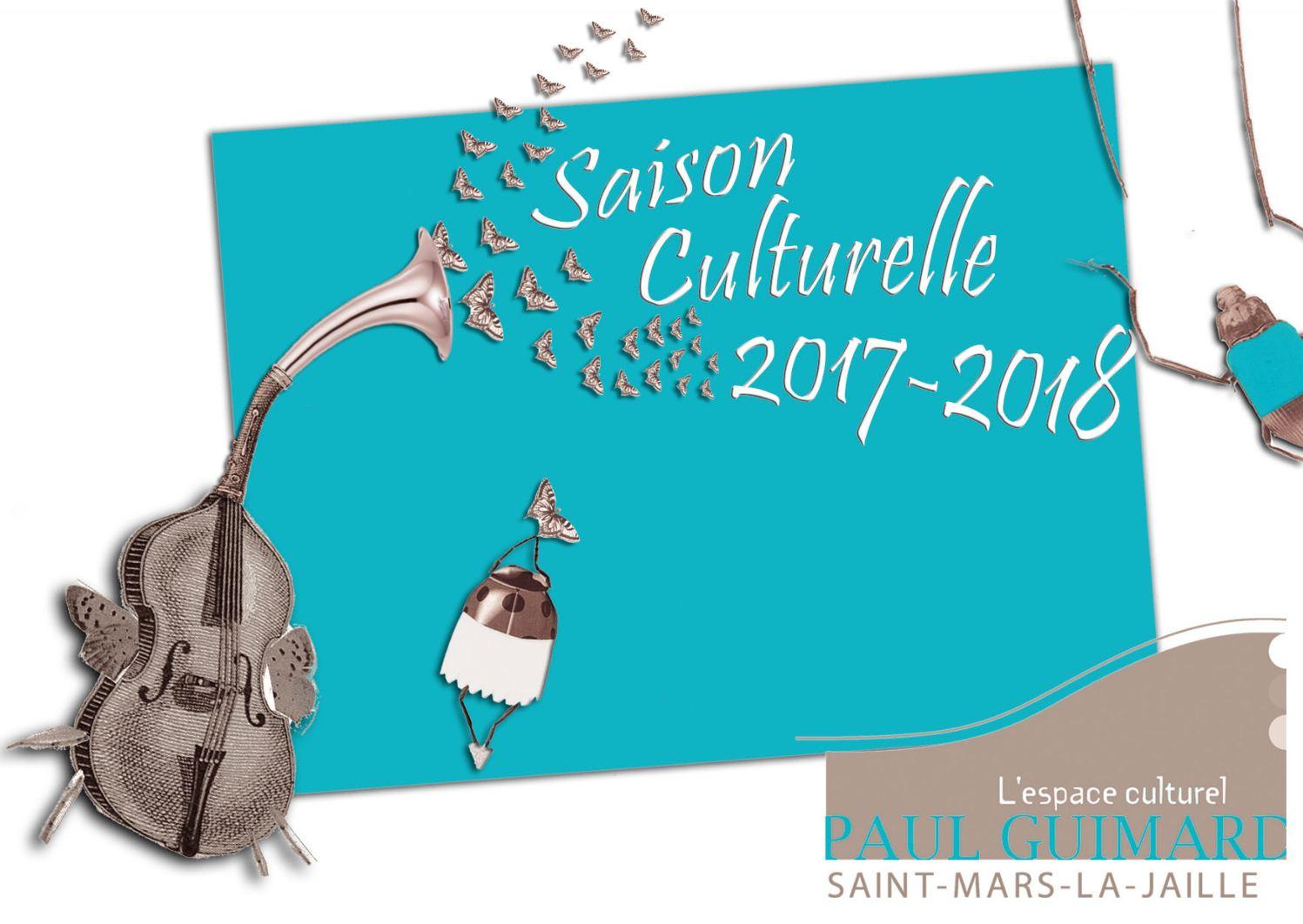 Saison Culturelle 2017-2018 St Mars la Jaille