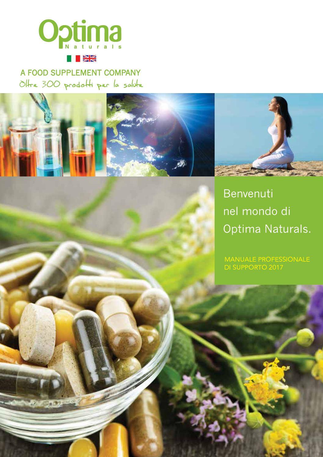 Catalogo Optima Naturals 2017