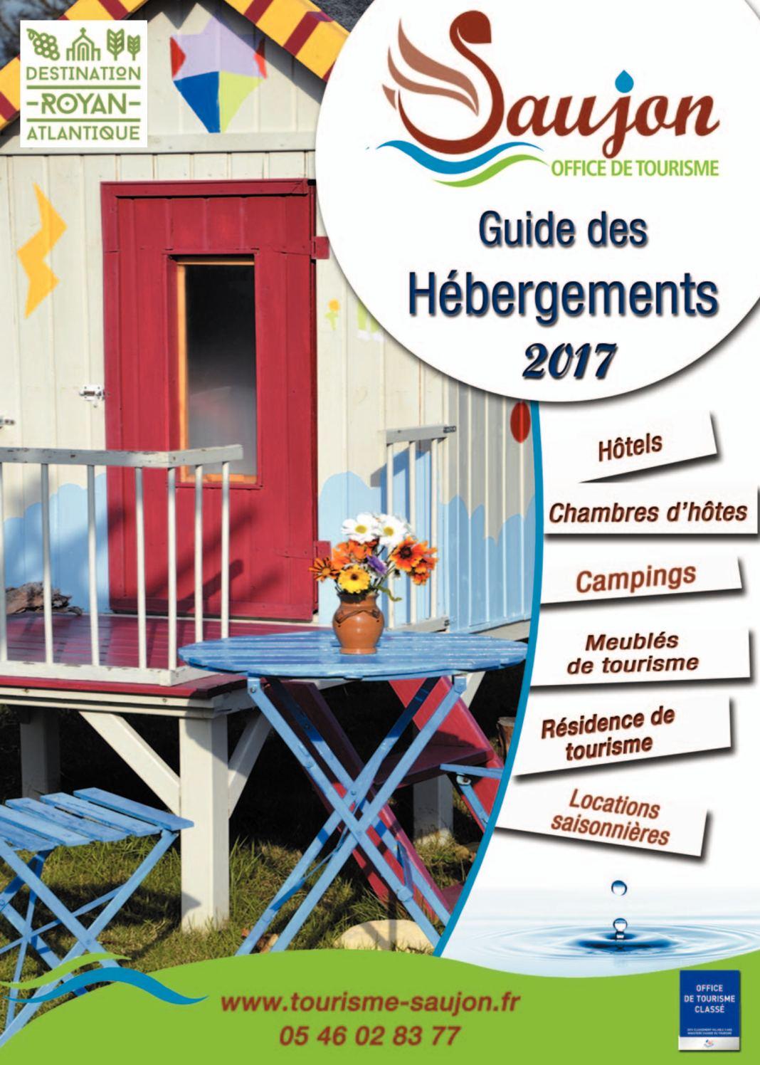Calam o guide h bergement saujon 2017 - Office de tourisme saujon ...