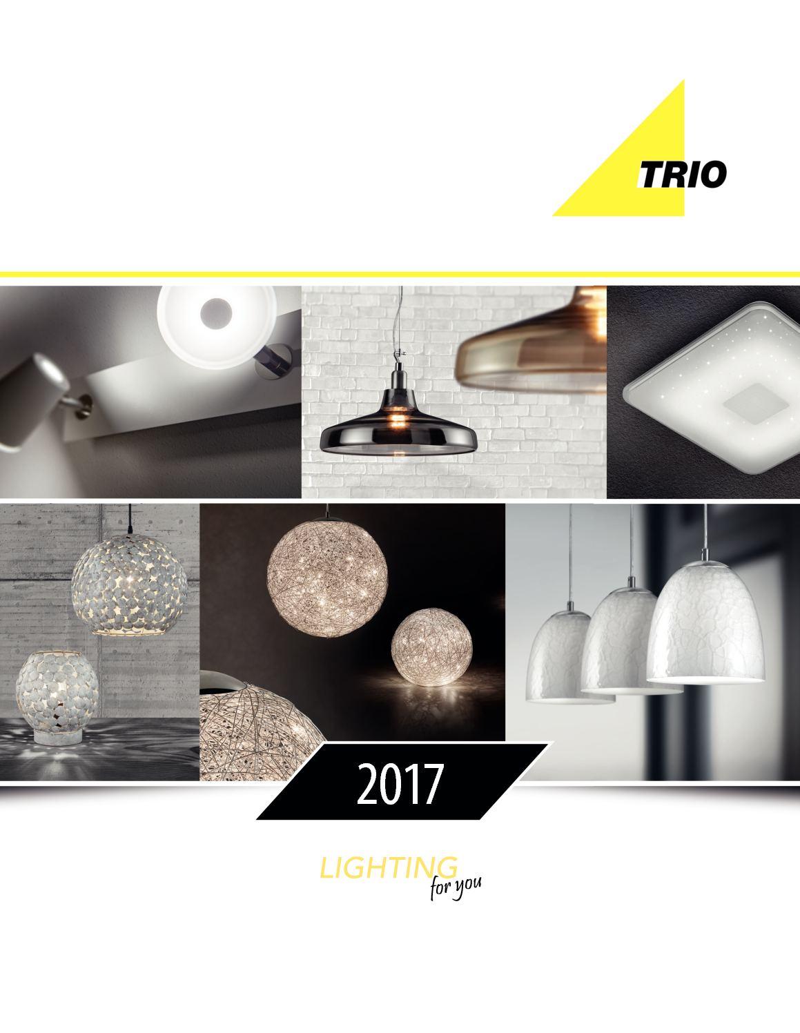 Calameo Trio Lighting Luminaire Interieur Catalogue 2017