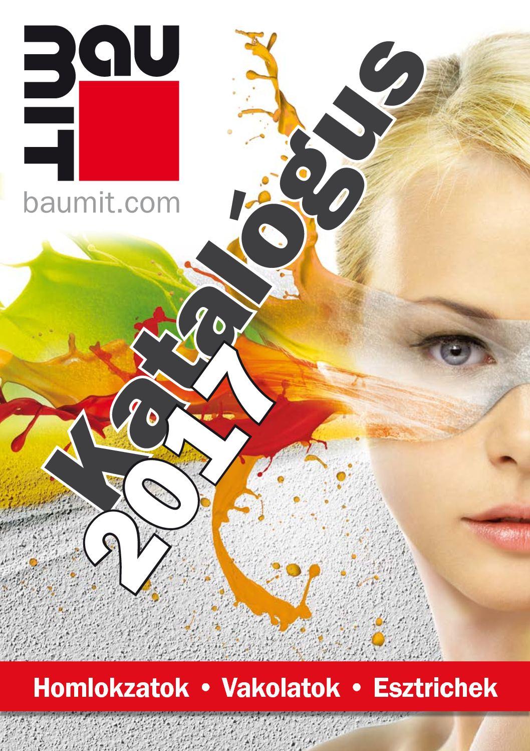 Baumit színskála 2017